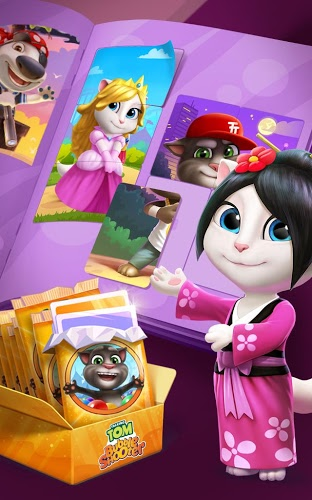Play Talking Tom Bubble Shooter on PC 14