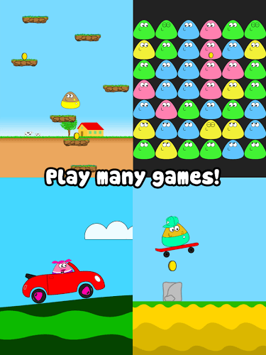 Main Pou on PC 9