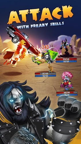 إلعب Monster Legends on PC 4
