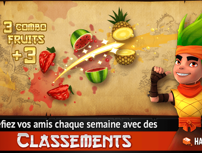 Joue Fruit Ninja Free on pc 12