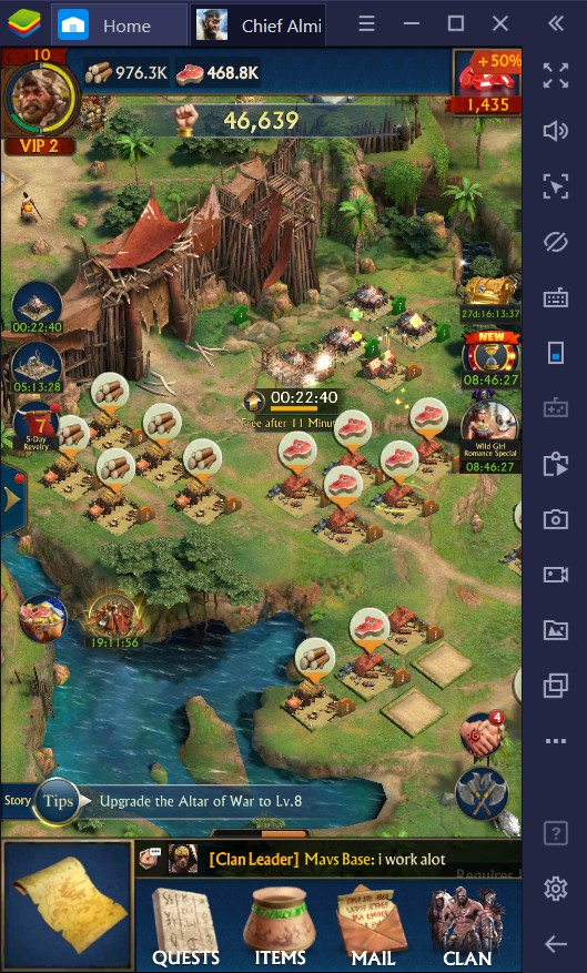 BlueStacks Guide to Building Your First Tribe in Chief Almighty