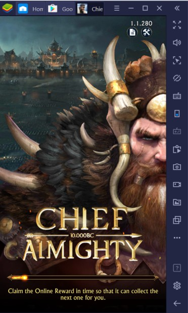 Getting Chief Almighty: First Thunder BC on PC with BlueStacks