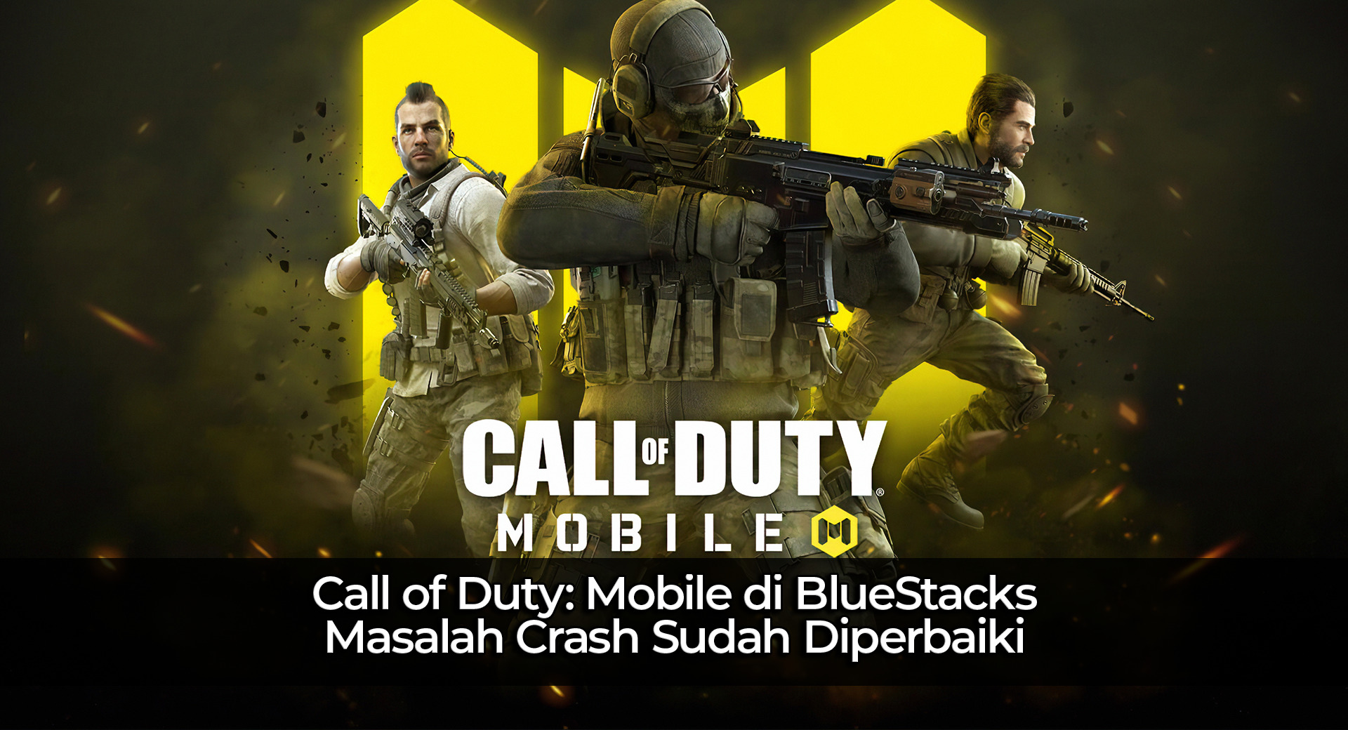 Call of Duty: Mobile di BlueStacks – Masalah Crash Sudah Diperbaiki