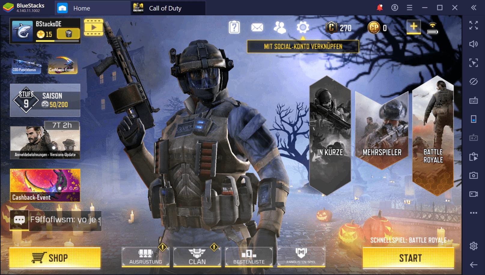 Call of Duty (CoD) Mobile auf dem PC – Lande direkt auf BlueStacks