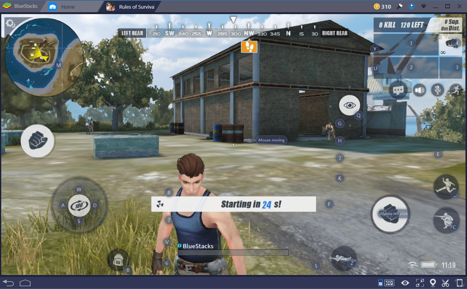 Rules of Survival Camera Controls