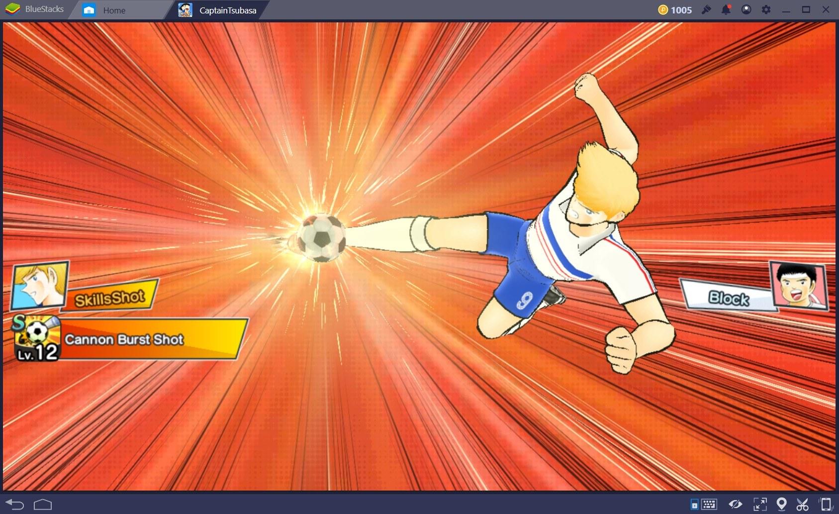 Captain Tsubasa: Dream Team – Game hay mùa World Cup 2018 để chơi cùng BlueStacks