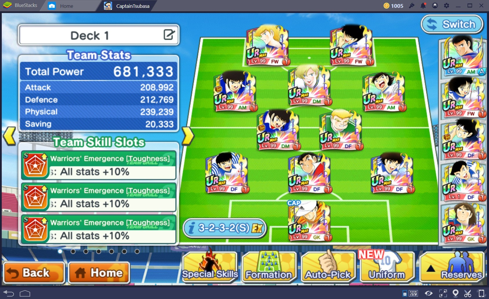 Captain Tsubasa: Dream Team – Game hay mùa World Cup 2018 để chơi cùng BlueStacks