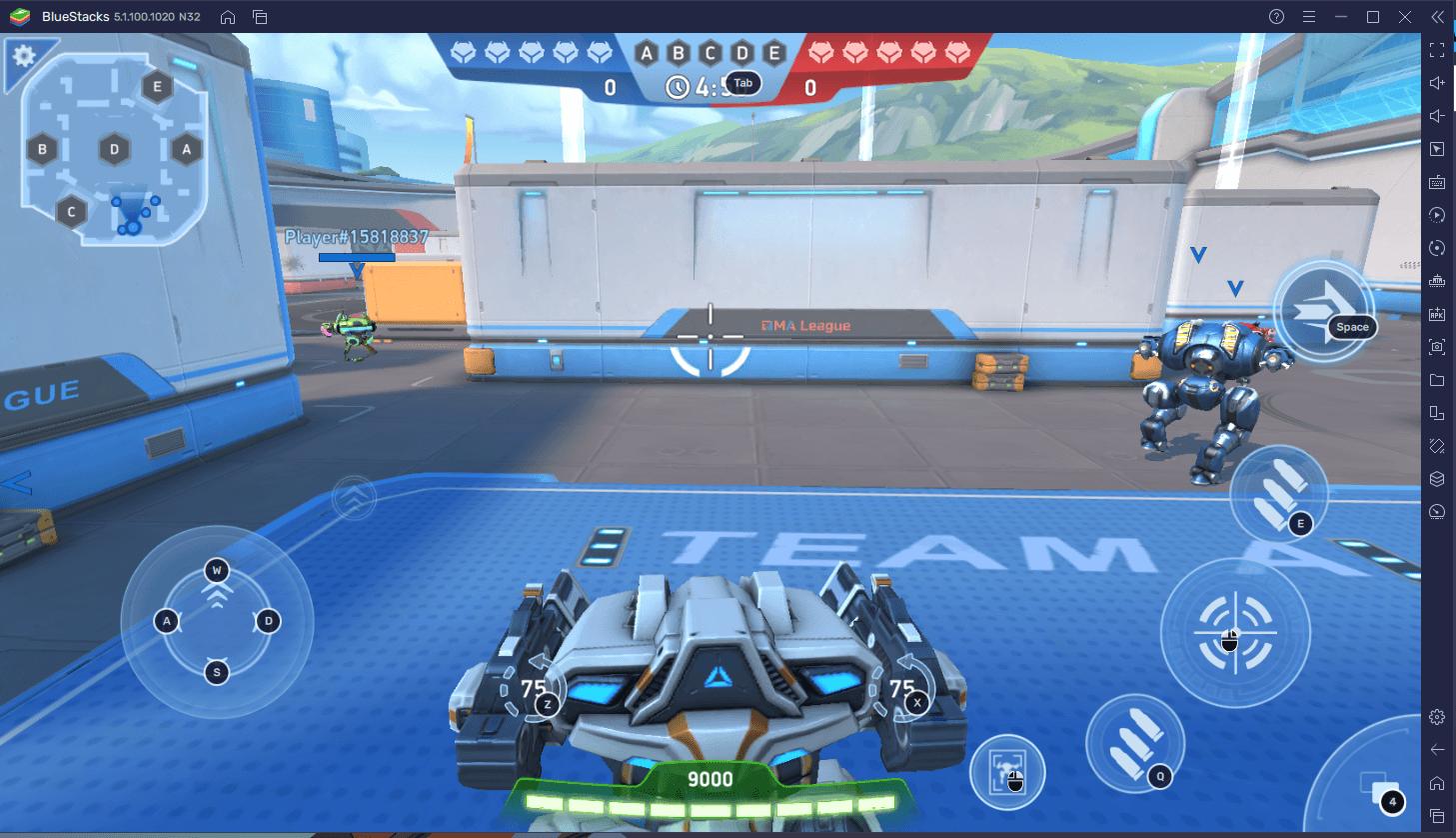 Cara Bermain Mech Arena: Robot Showdown via BlueStacks di PC!