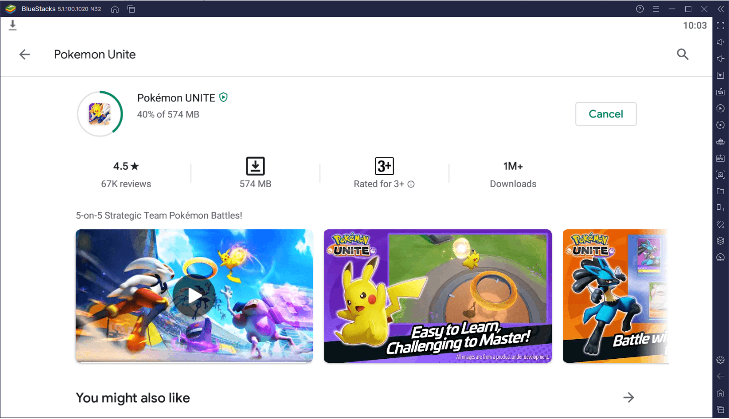 Cara Bermain Pokemon Unite via BlueStacks di PC!