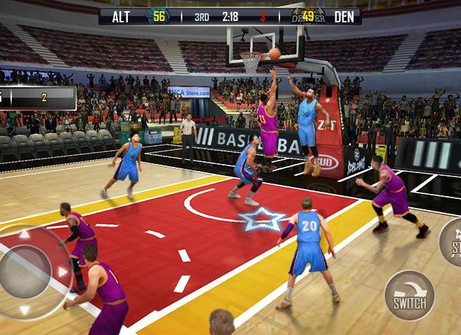 Play Fanatical Basketball on PC 6