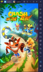 Crash Bandicoot: On the Run – So verbesserst du dein Spielerlebnis mit BlueStacks