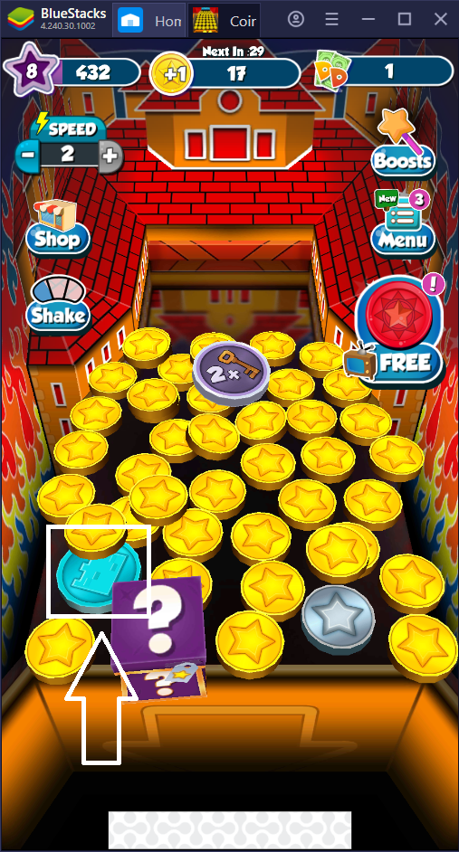 A Beginner's Guide to Coin Dozer: Sweepstakes on PC