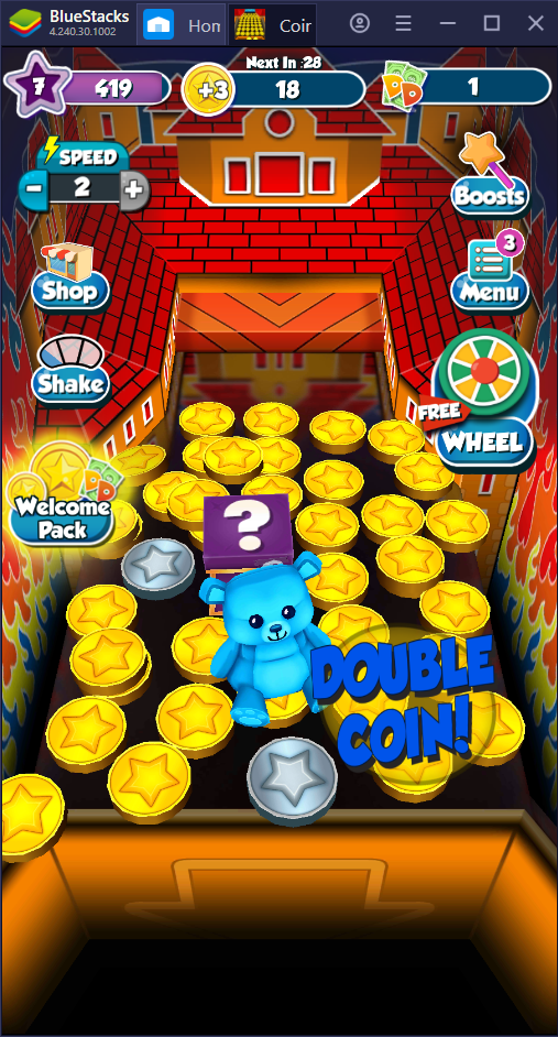 Tips and Tricks on Winning More in Coin Dozer: Sweepstakes on PC