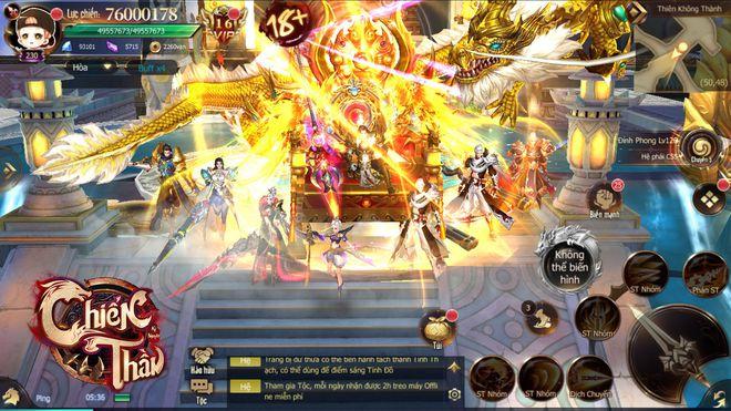 VTC Mobile giới thiệu game mobile Chiến Thần Kỷ Nguyên