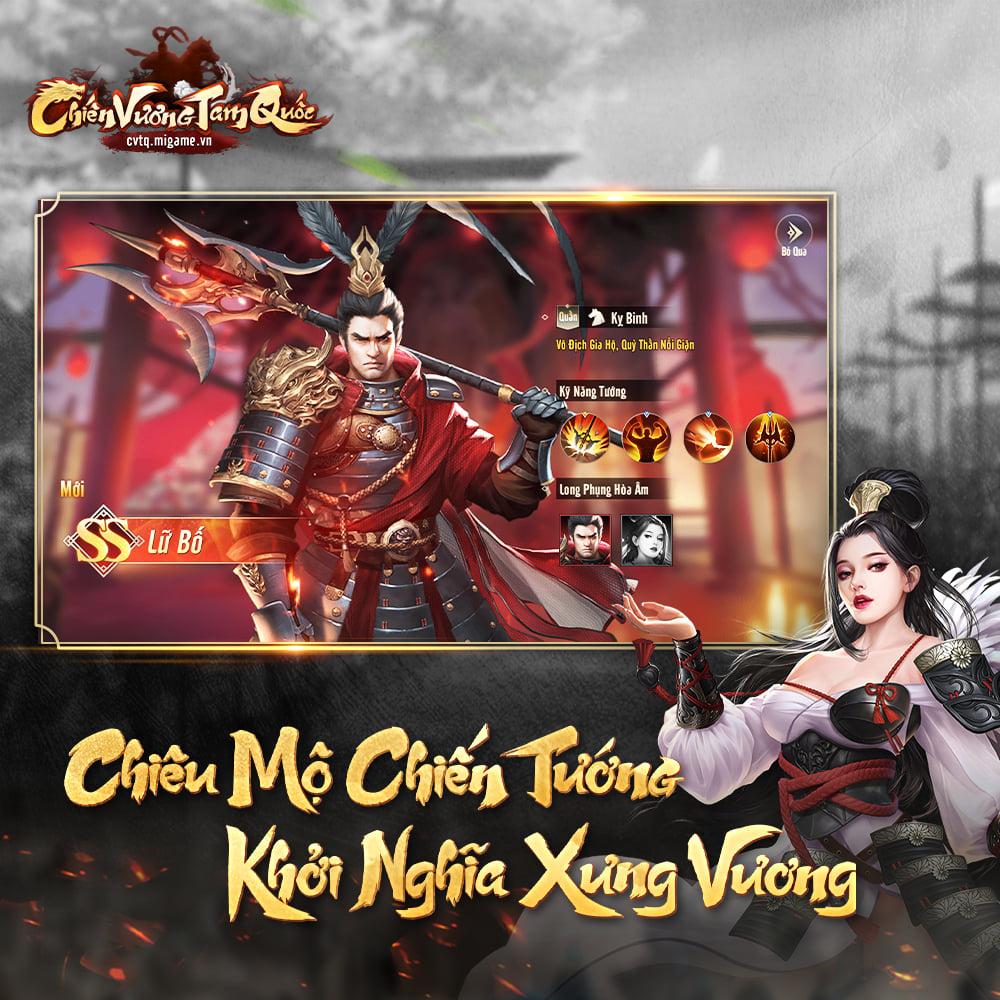Chiến Vương Tam Quốc: Game mobile chiến thuật sắp phát hành
