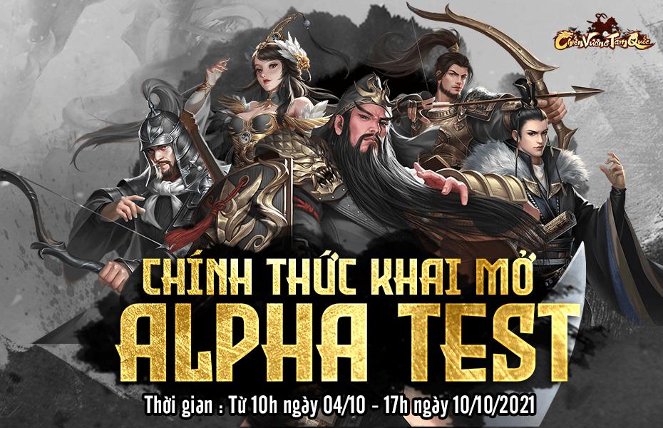 Chiến Vương Tam Quốc mở Alpha Test, sẽ ra mắt chính thức ngày 12/10