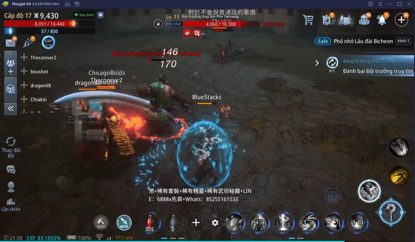 Chơi MIR4 trên BlueStacks: Đâu là nhân vật mạnh nhất?