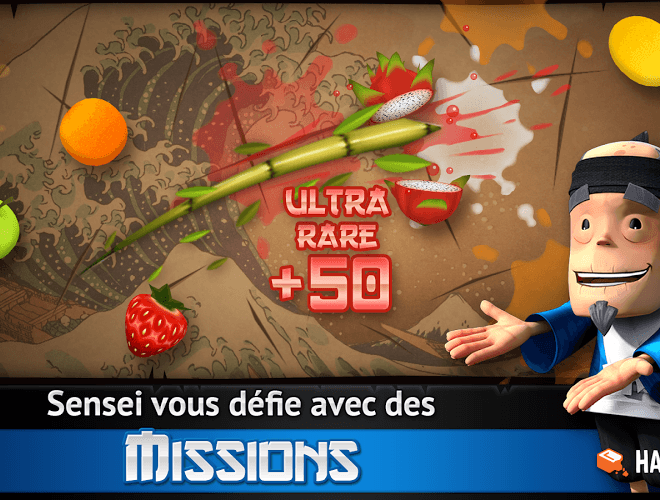 Joue Fruit Ninja Free on pc 14