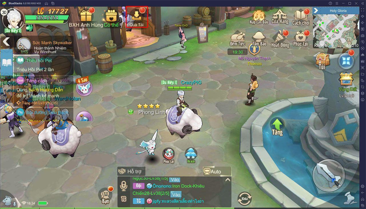 Hướng dẫn game thủ bắt đầu chơi Cloud Song trên PC