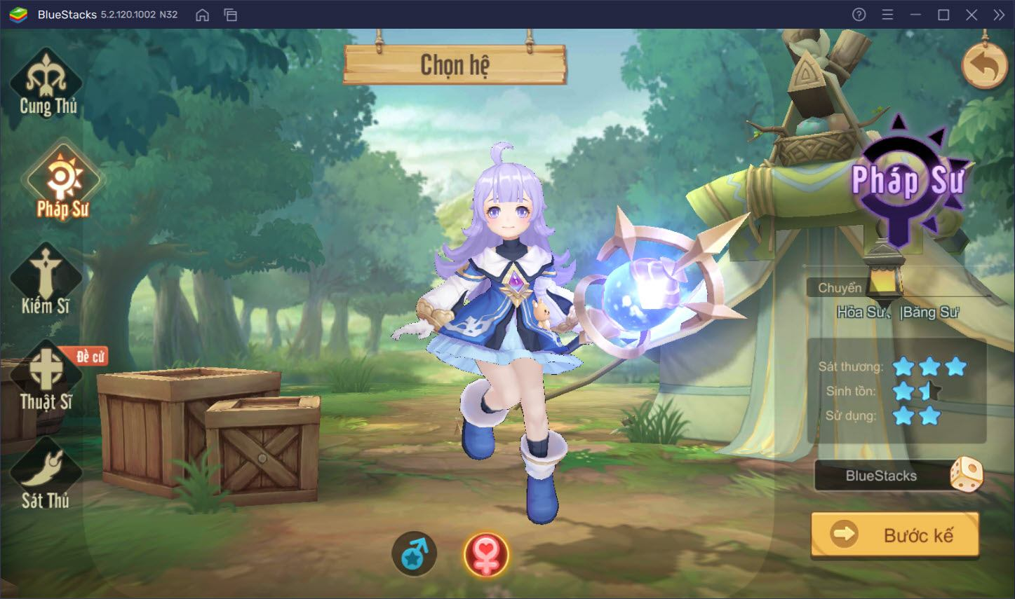 Tìm hiểu hệ thống nhân vật trong Cloud Song