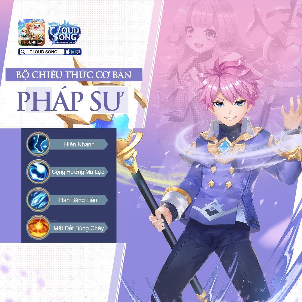 Cloud Song: Điểm danh 5 loại nghề nghiệp trong game