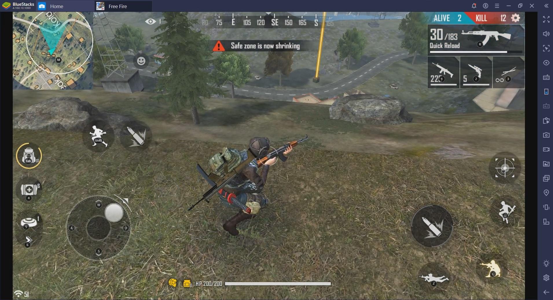 La toute nouvelle fonctionnalité Smart Controls revue et corrigée pour Free Fire et Call of Duty Mobile sur PC