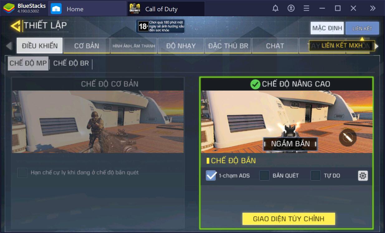 Hướng dẫn cơ bản cách chơi trong Call of Duty: Mobile