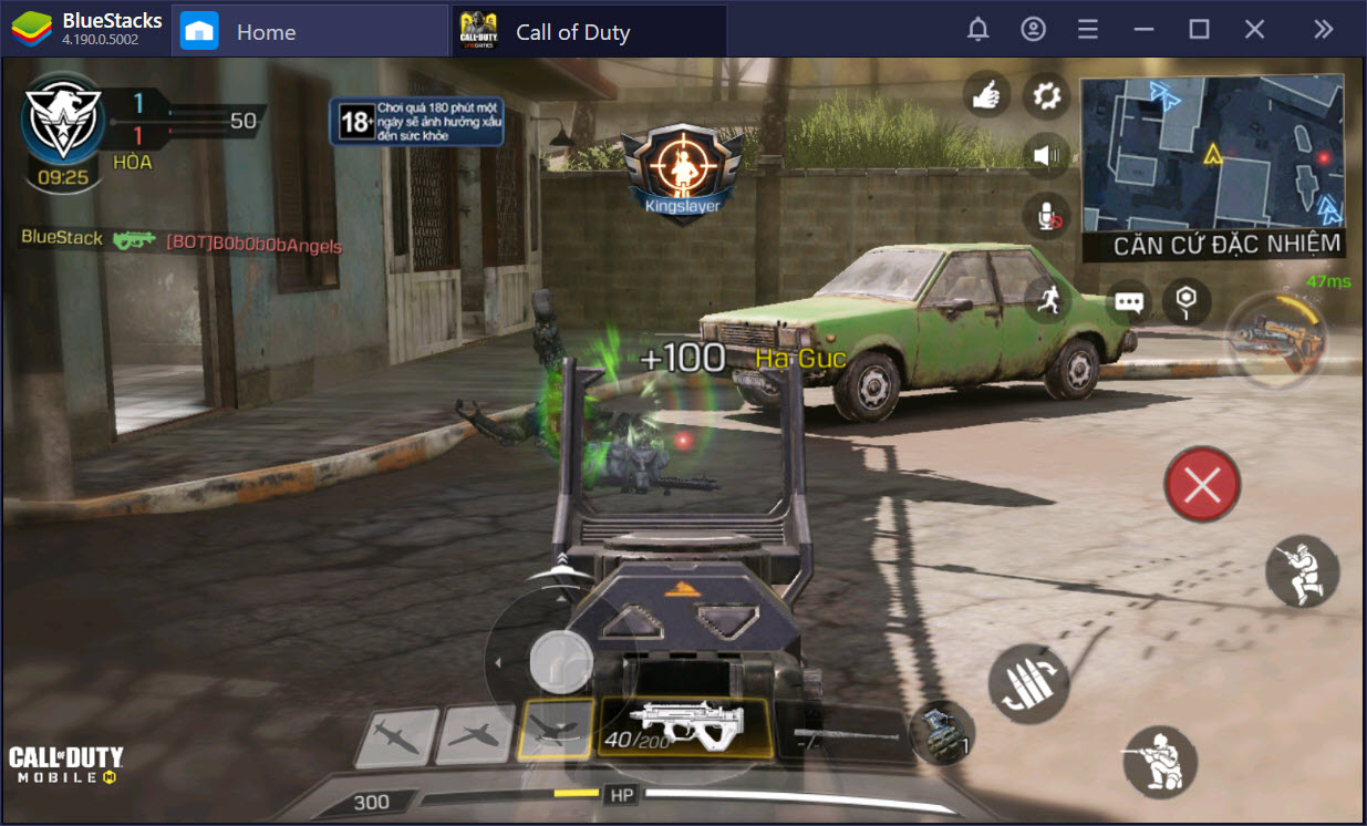 Thiết lập Game Controls, bắn Call of Duty: Mobile như game PC