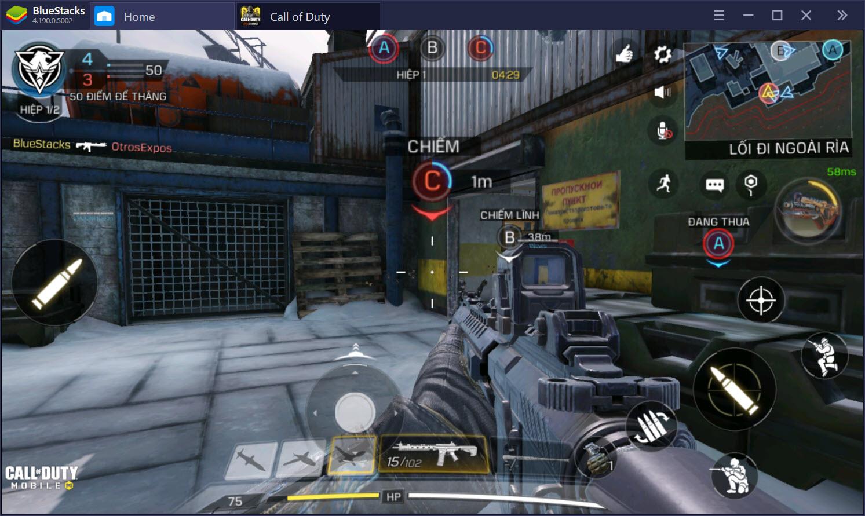 Tìm hiểu các chế độ chơi hấp dẫn trong Call of Duty: Mobile