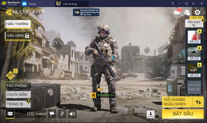 """Cùng chơi """"bom tấn FPS"""" Call of Duty: Mobile trên PC với BlueStacks"""