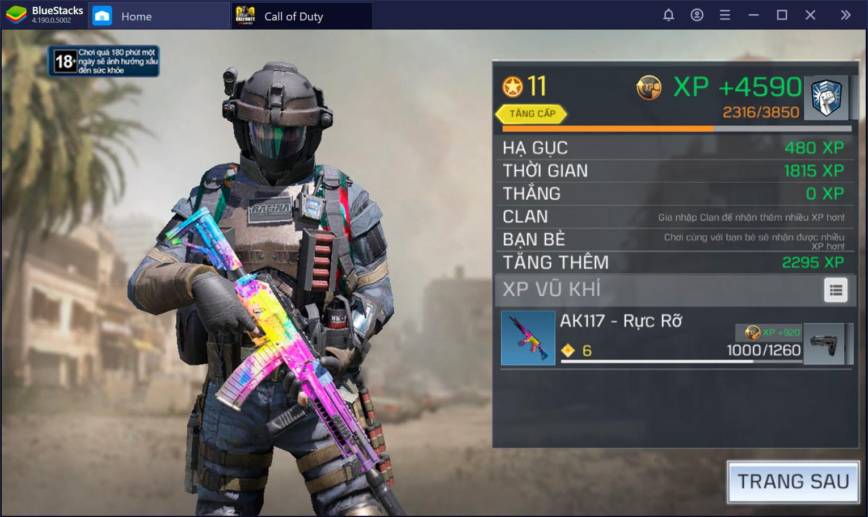 Lưu ý khi tham gia chế độ Rank trong Call of Duty: Mobile