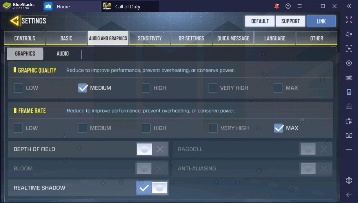 Call of Duty Mobile no PC: as melhores configurações de gráficos e controles