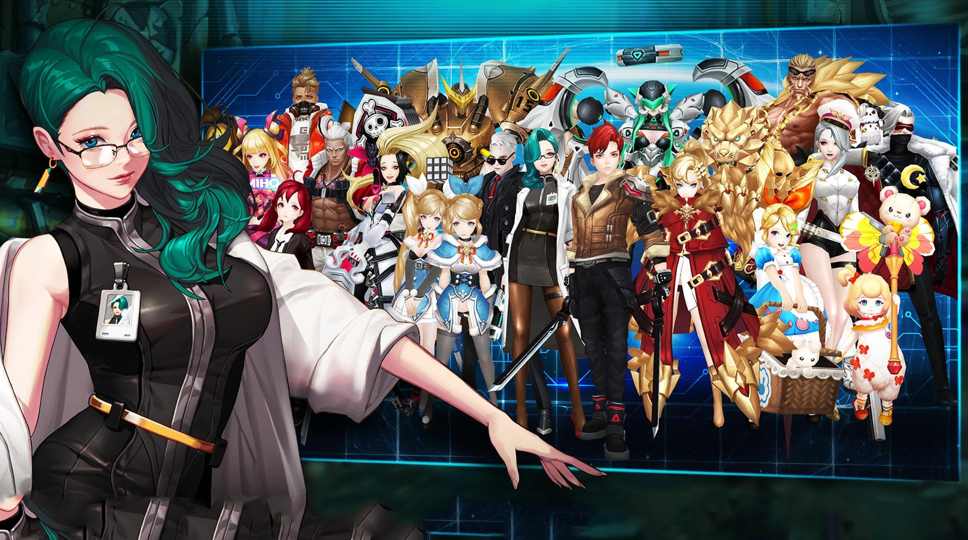 Download GATE SIX: CYBER PERSONA on PC with BlueStacks
