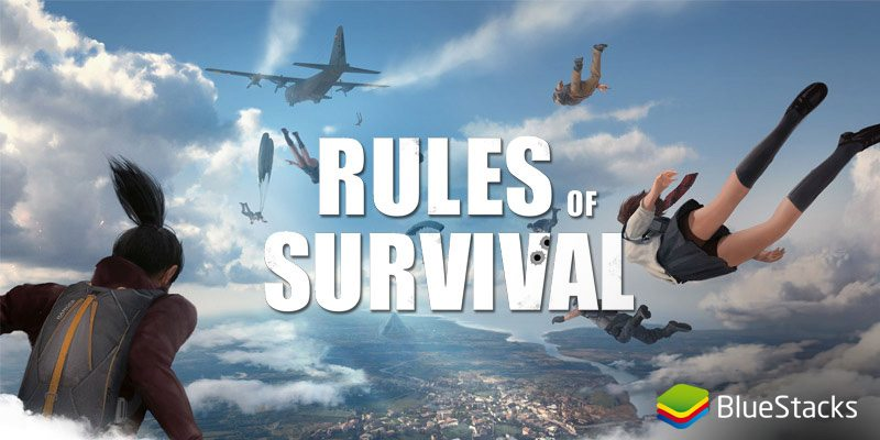 rules of survival bluestacks 3