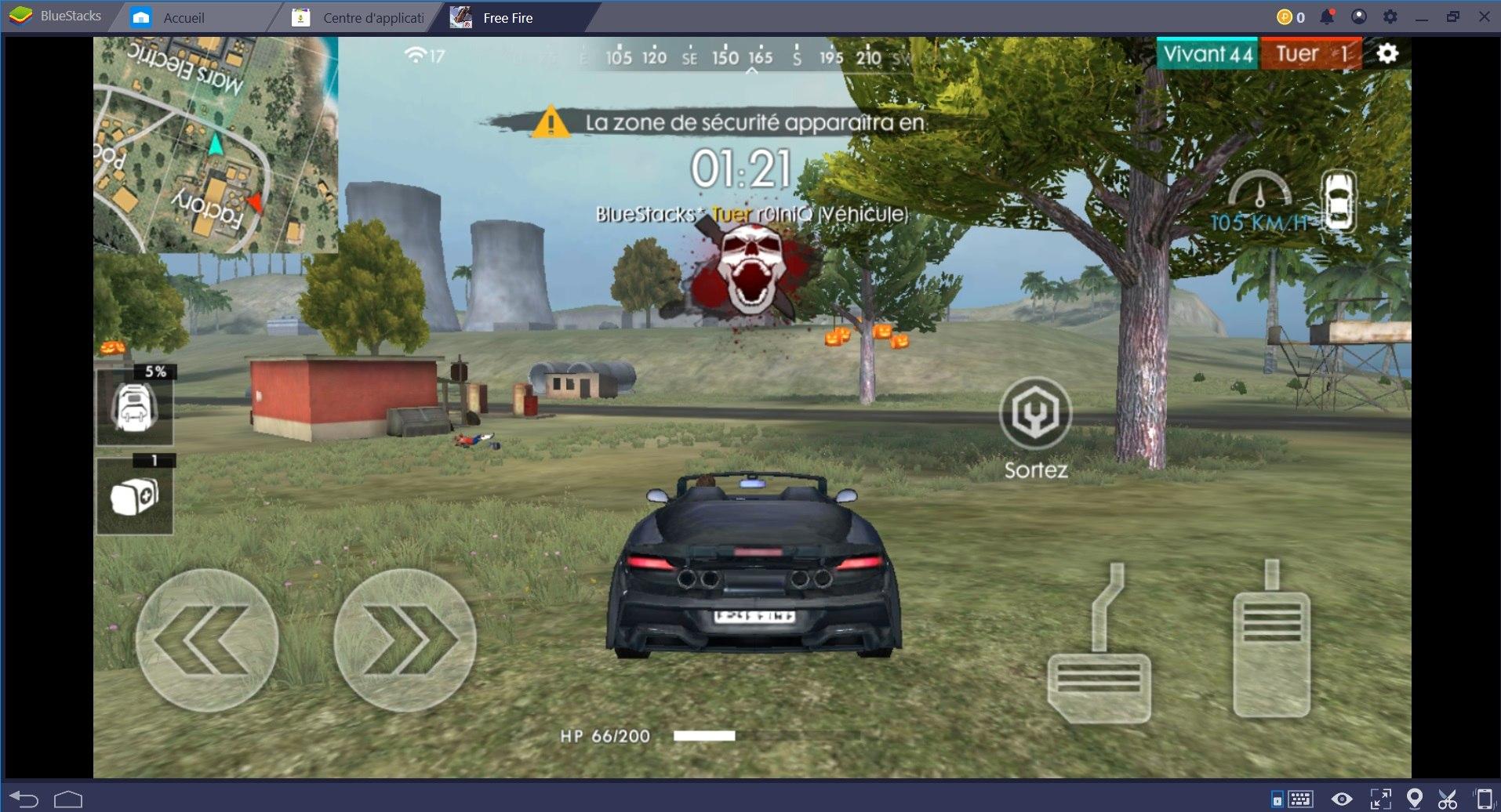 Free Fire Battlegrounds : Fraguez plus grâce au Combo Key de BlueStacks