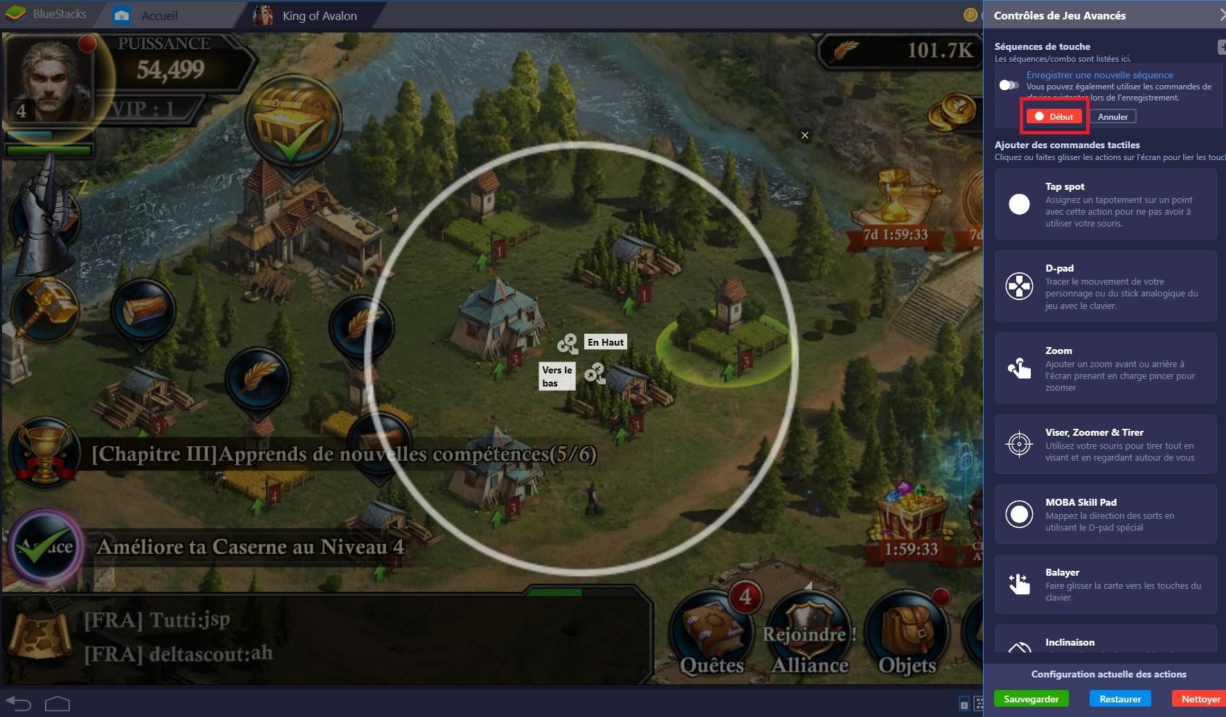 King of Avalon : Optimiser son expérience de jeu grâce au Combo Key de BlueStacks