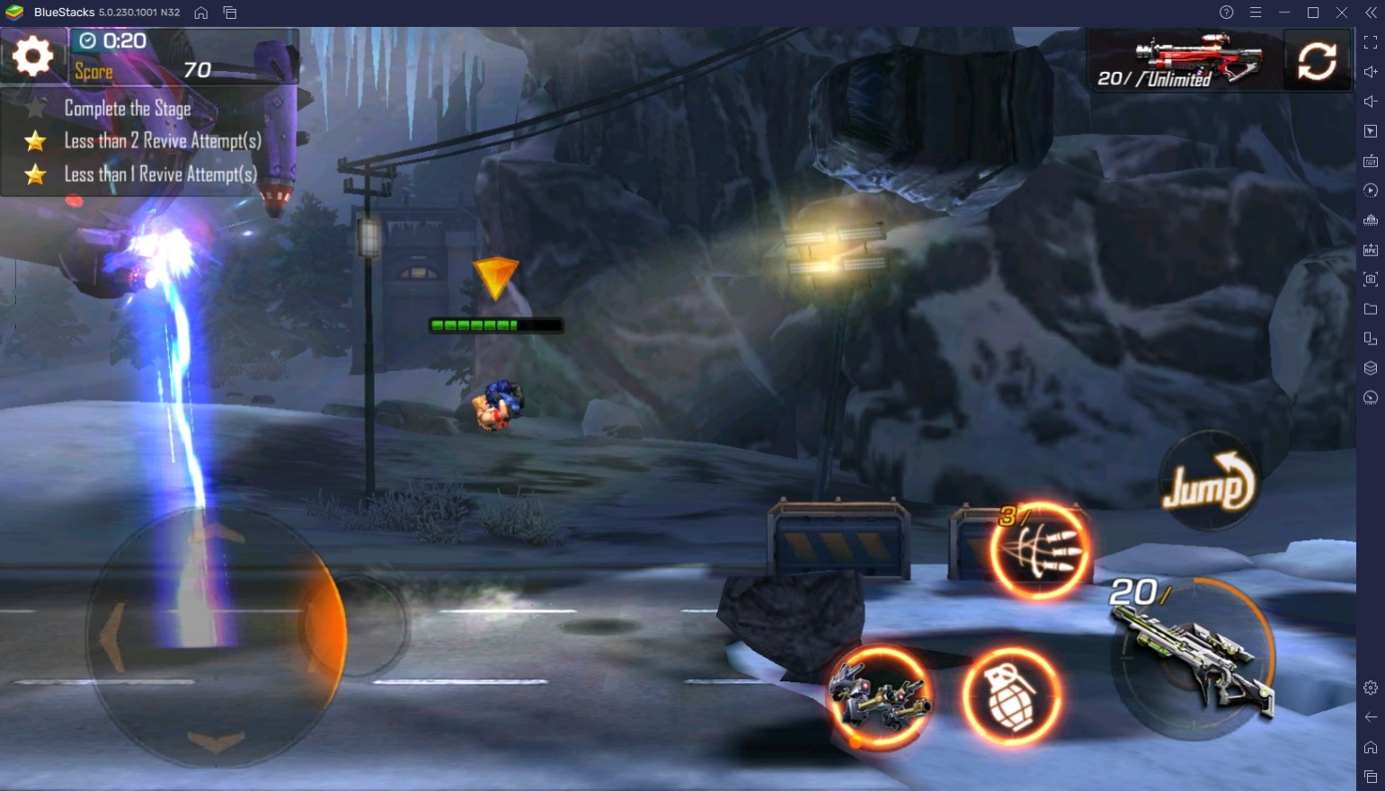 BlueStacks Beginner's Guide to Playing Contra Returns