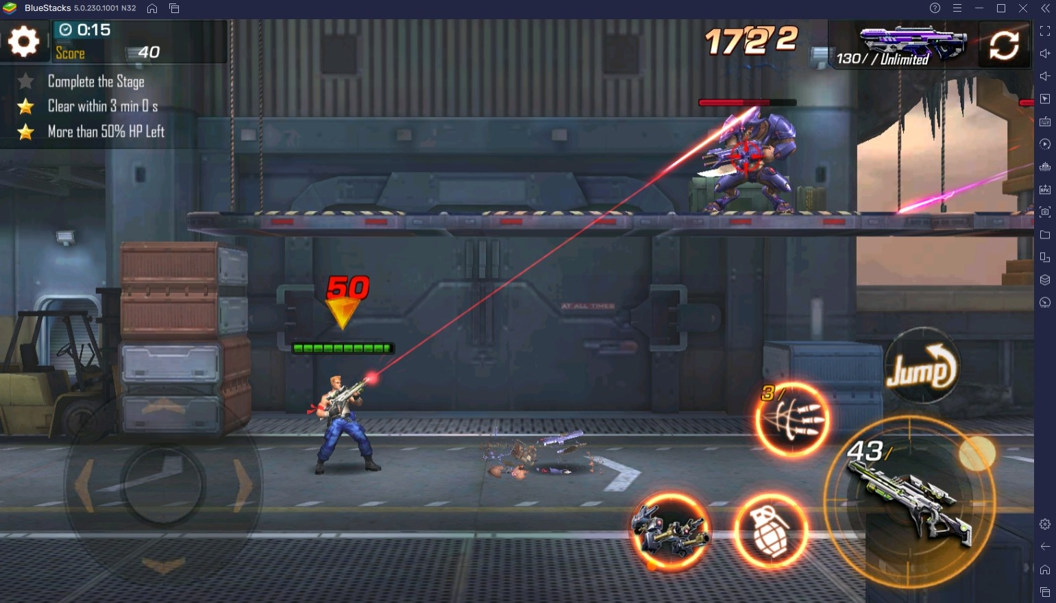 How To Get Better At Combat In Contra Returns