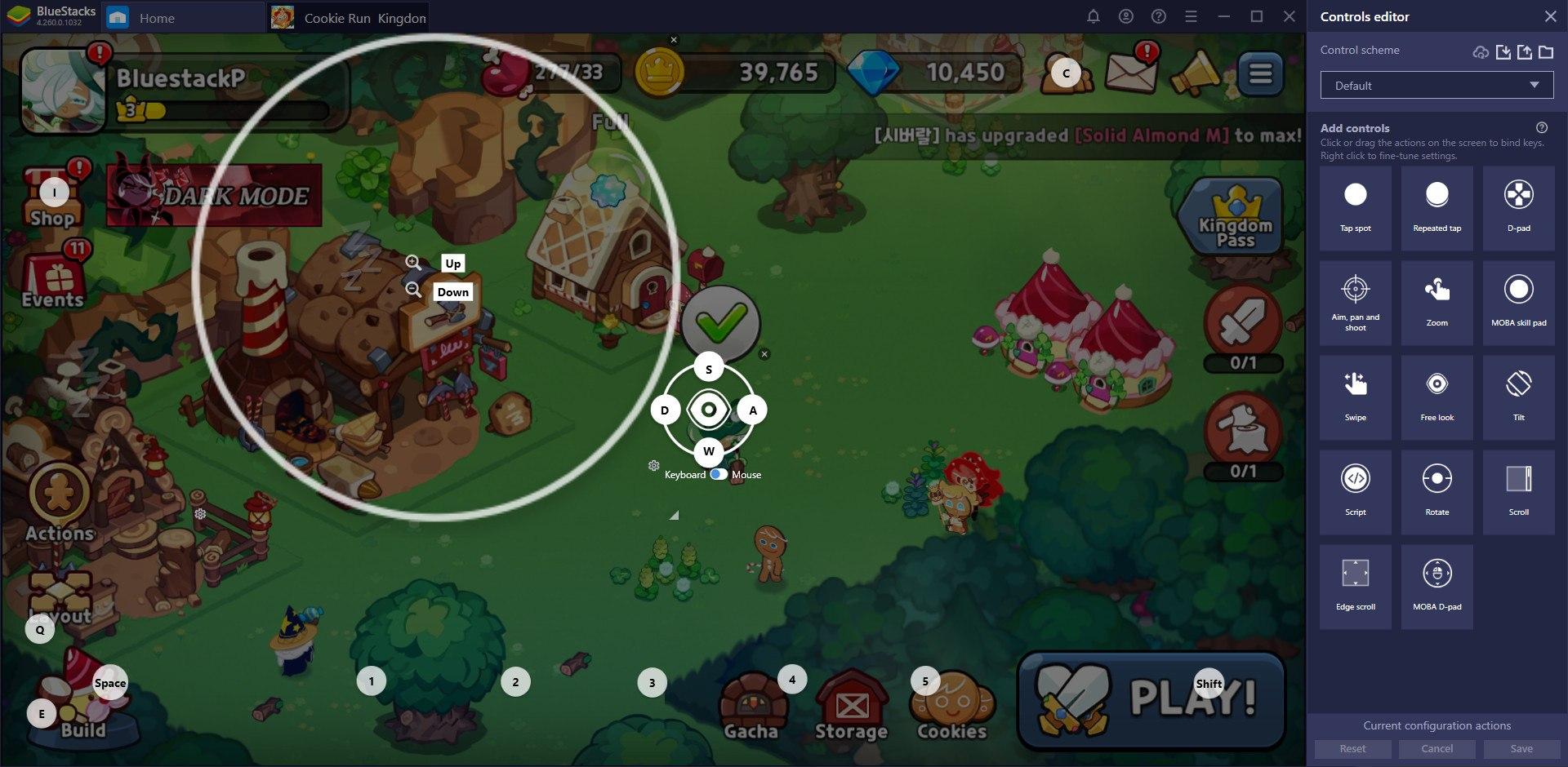 เทคนิคการเล่น Cookie Run: Kingdom บน PC และ Mac ผ่าน BlueStacks