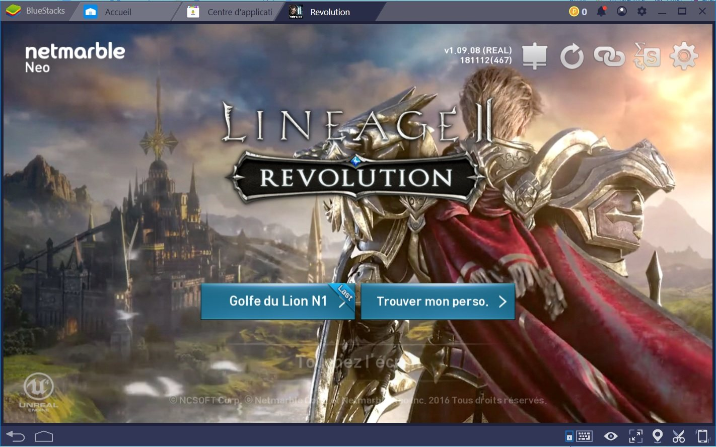 Plus de fun dans Lineage 2 : Revolution grâce au Combo Key de BlueStacks