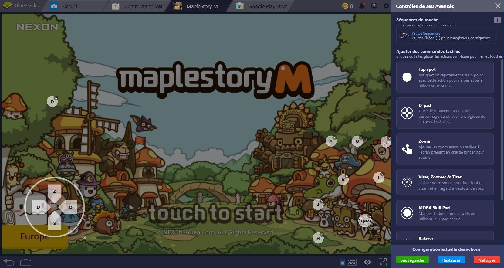 Farmez plus vite dans MapleStory M grâce au Combo Key de BlueStacks