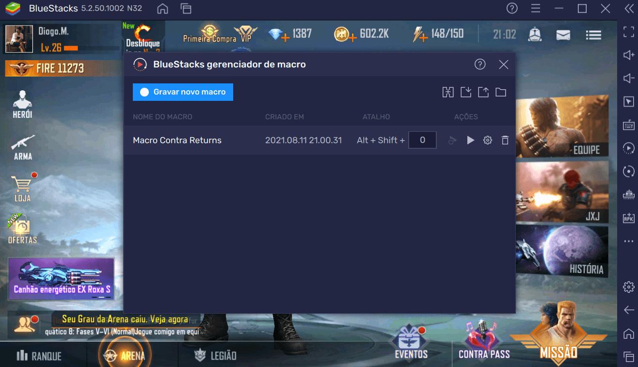 Como Jogar Contra Returns no PC com BlueStacks