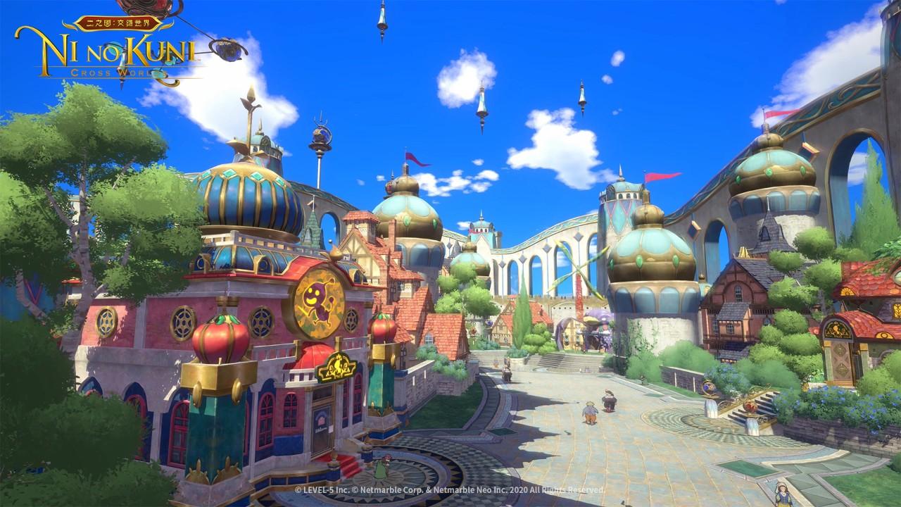 《二之國:交錯世界》邀妳一起前往幻想國度 搶先介紹!