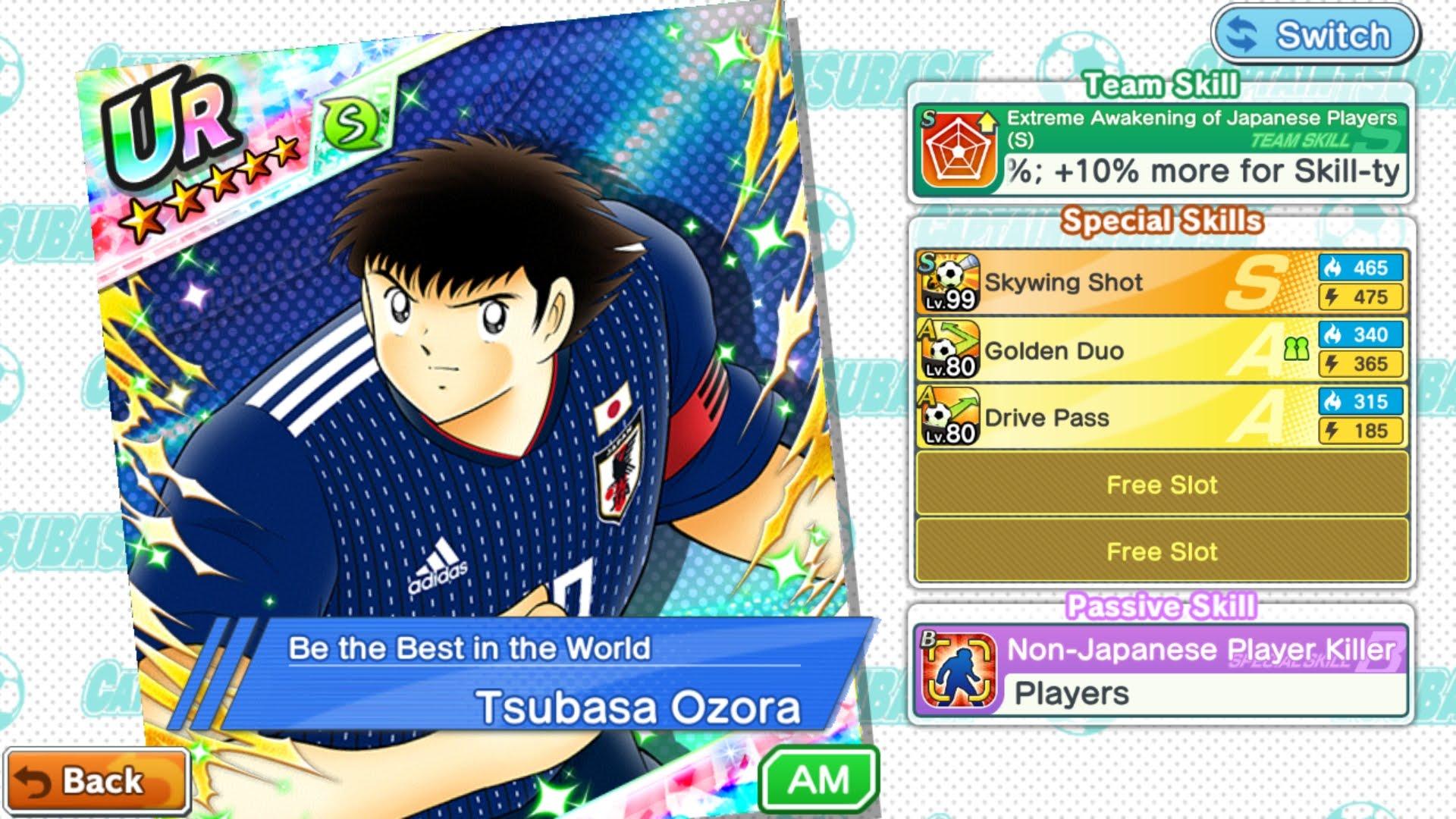 Captain Tsubasa: Dream Team – Tuyển Nhật phiên bản World Cup 2018 đáng sợ ra sao?