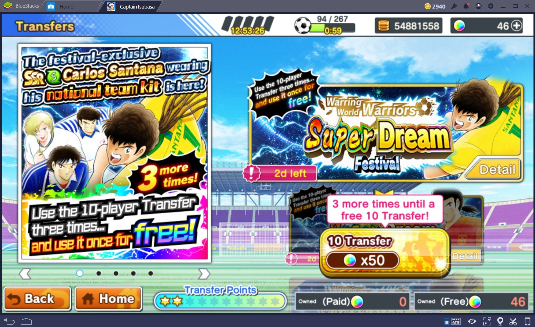Captain Tsubasa: Dream Team – Khám phá sức mạnh Santana và Xiao Junguang Dreamfest
