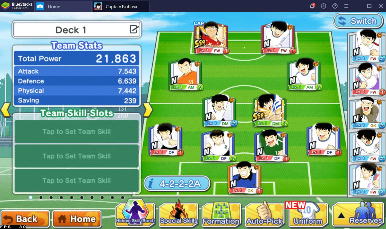 كيف تلعب لعبة Captain Tsubasa: Dream Team على جهاز الكمبيوتر باستخدام BlueStacks