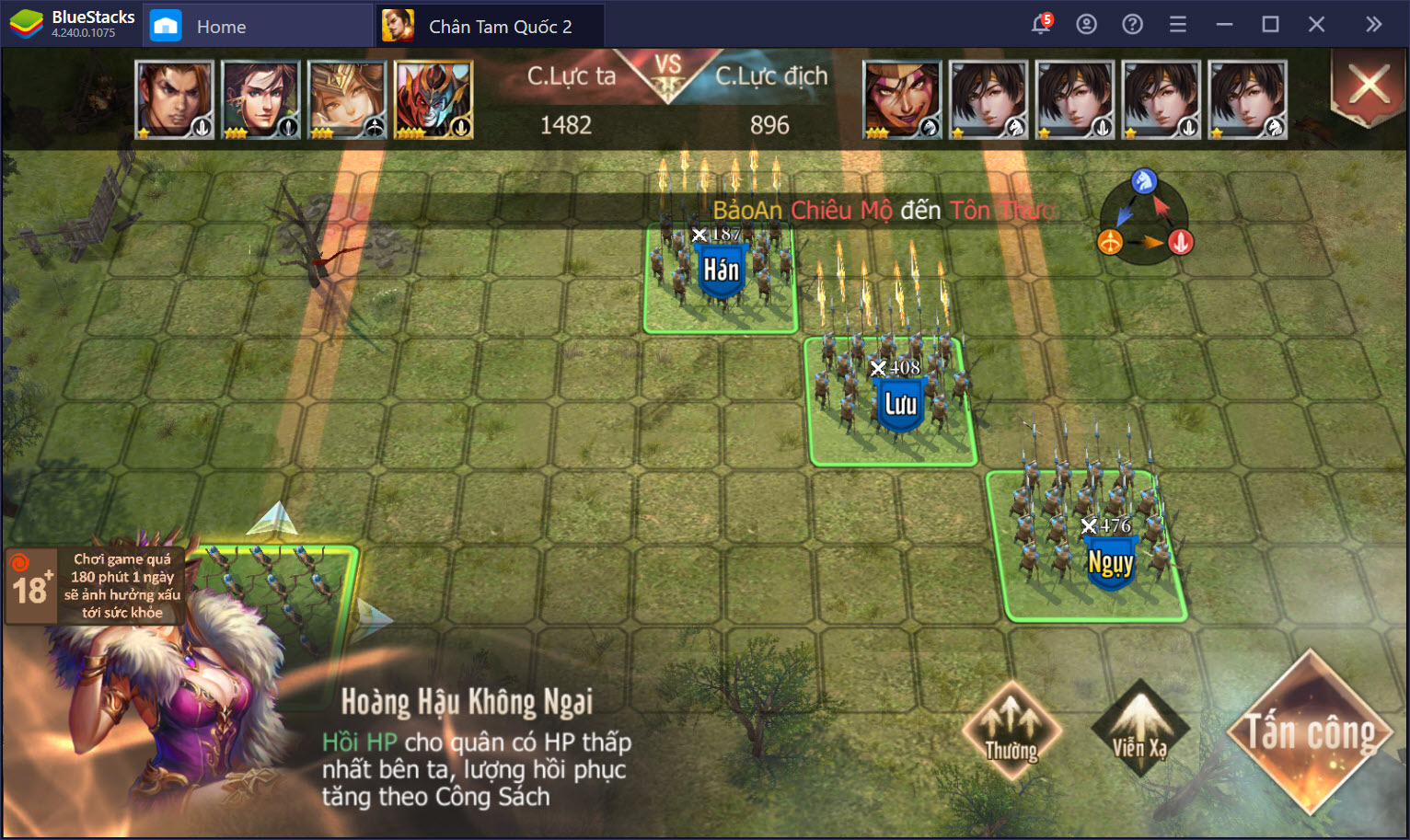 Những tính năng người chơi rất dễ bỏ qua trong Chân Tam Quốc 2