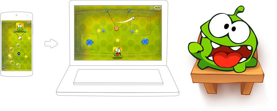 how to play cut the rope 2