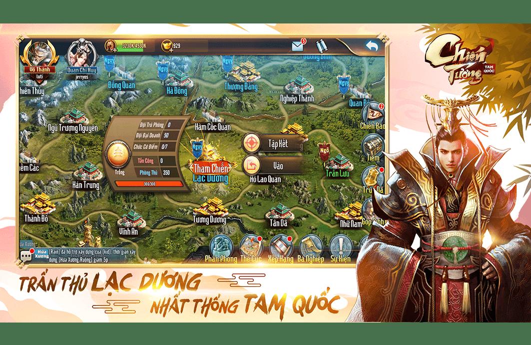 Chiến Tướng Tam Quốc: Game chiến thuật SLG ra mắt ngày 9/7