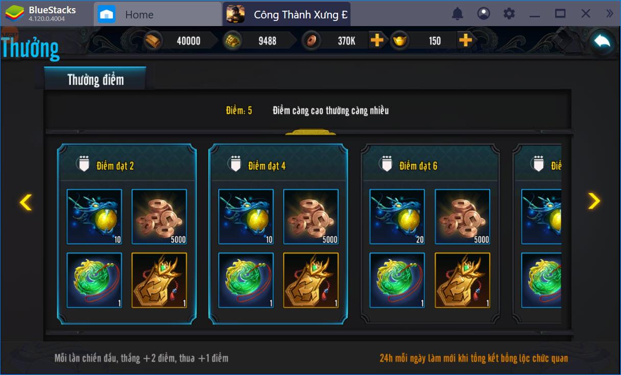 Những lưu ý không thể bỏ qua khi chơi Công Thành Xưng Đế Mobile